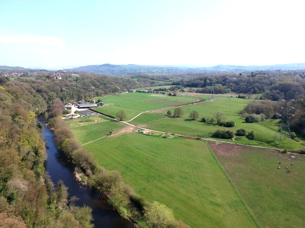 aerial lower dale